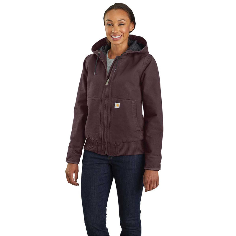 Carhartt Women's WJ130 Washed Duck Insulated Active Jac