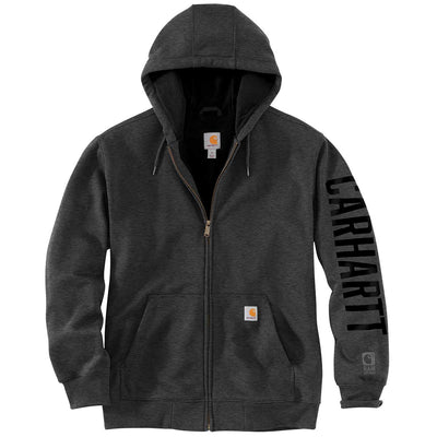 Carhartt Rain Defender Lined Logo Graphic Sweatshirt