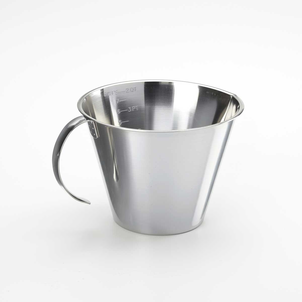 Linden Sweden 8-Cup Stainless Steel Measuring Cup