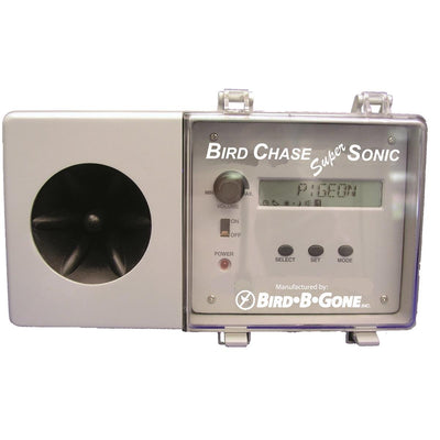 BIRD-B-GONE Bird Chase Super Sonic Sound Deterrent
