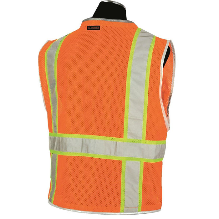 ML Kishigo Brilliant Series ANSI Class 2 Hi-Vis Safety Vest