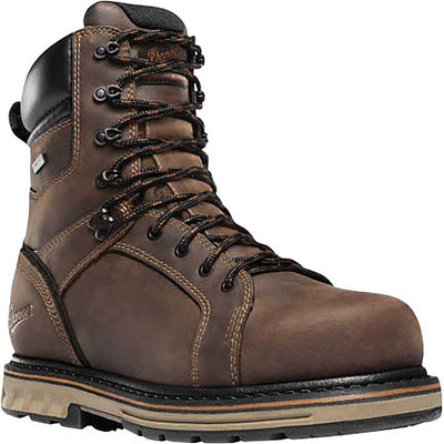 "Danner Men's Steel Yard 8"" Steel Toe Boots"
