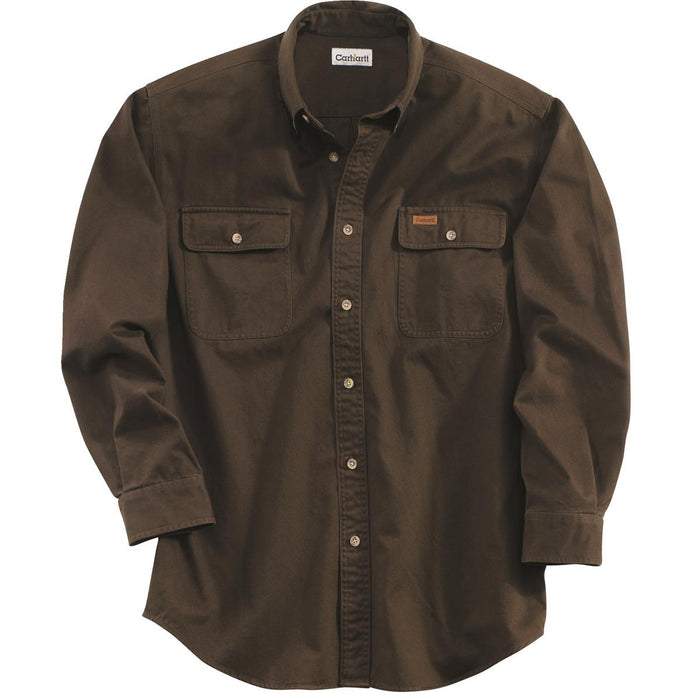 Carhartt S09 Sandstone Washed Twill Shirt