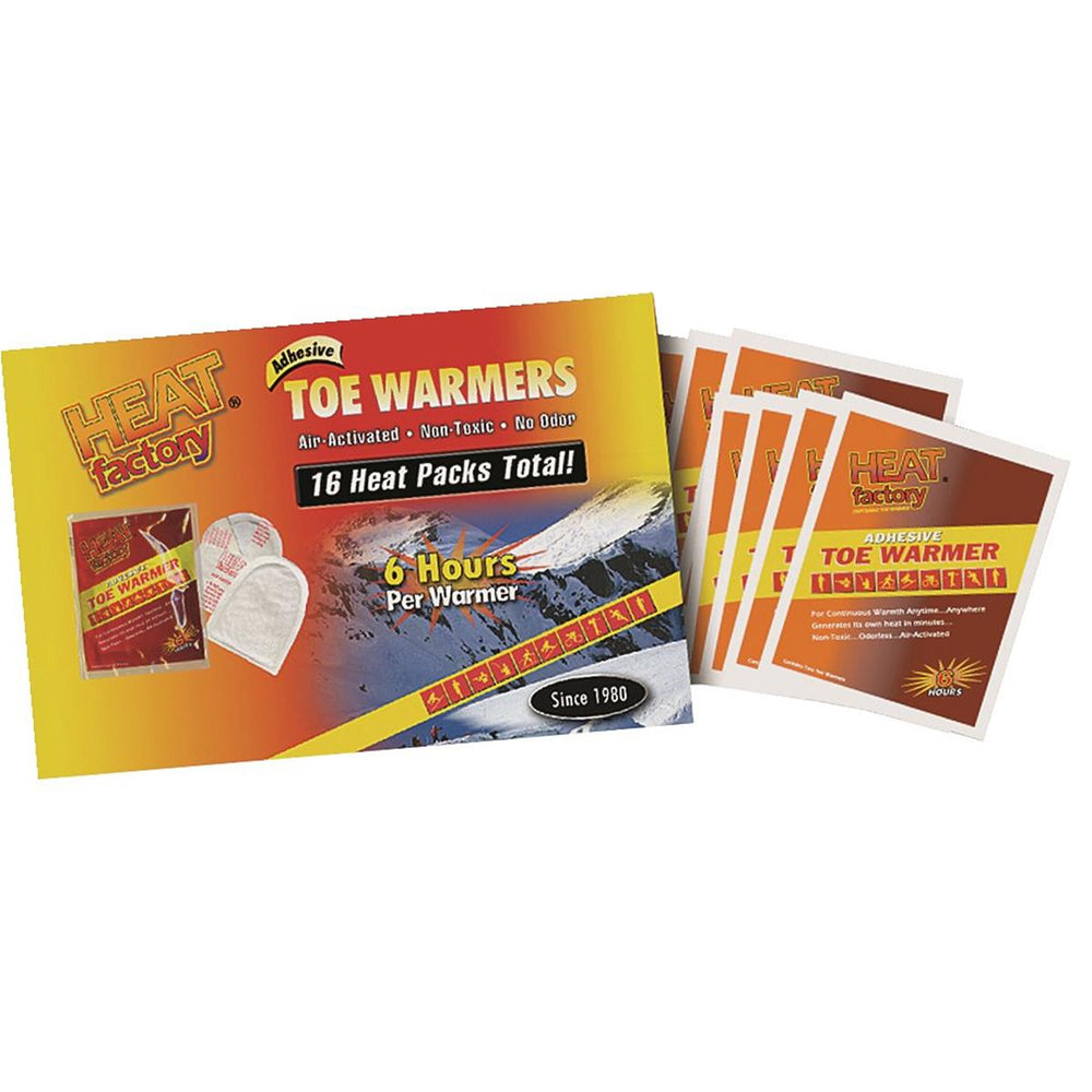 Heat Factory Toe Warmers, Pkg. of 8 pair