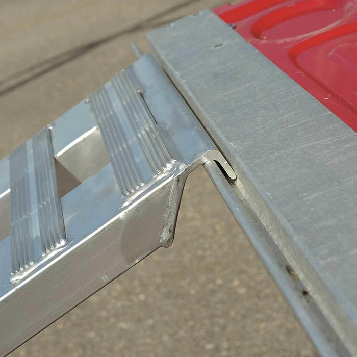 Heavy-Duty Aluminum Trailer Ramp Receivers