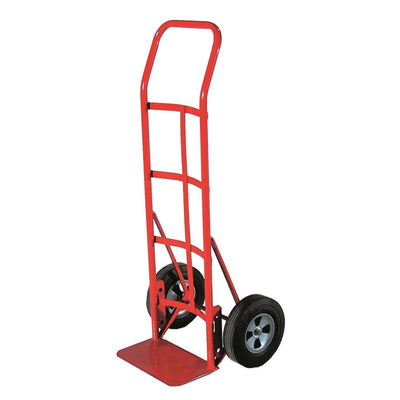 "Milwaukee Hand Truck with 10""-dia. Solid Rubber Wheels"