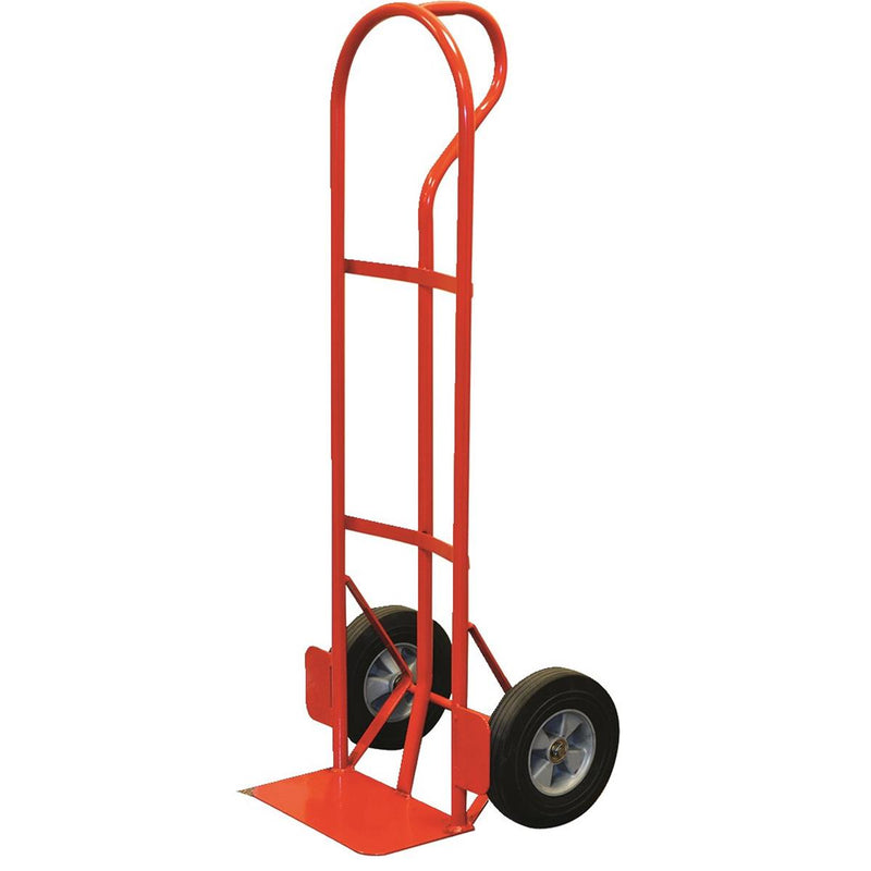 "Milwaukee® Hand Truck with Wheel Guards, 10""-dia. Solid Rubber Wheels"