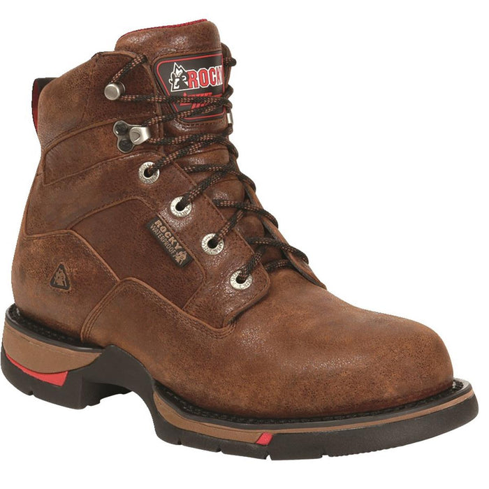 "Long Range™ 8""H Plain Toe Work Boots"