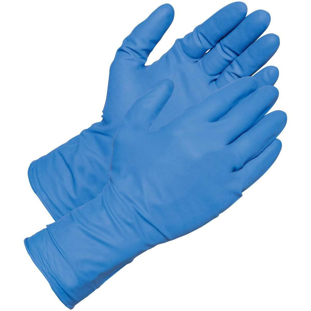 "GEMPLER'S 12""L, 12-mil Disposable Powder-Free Nitrile Gloves"