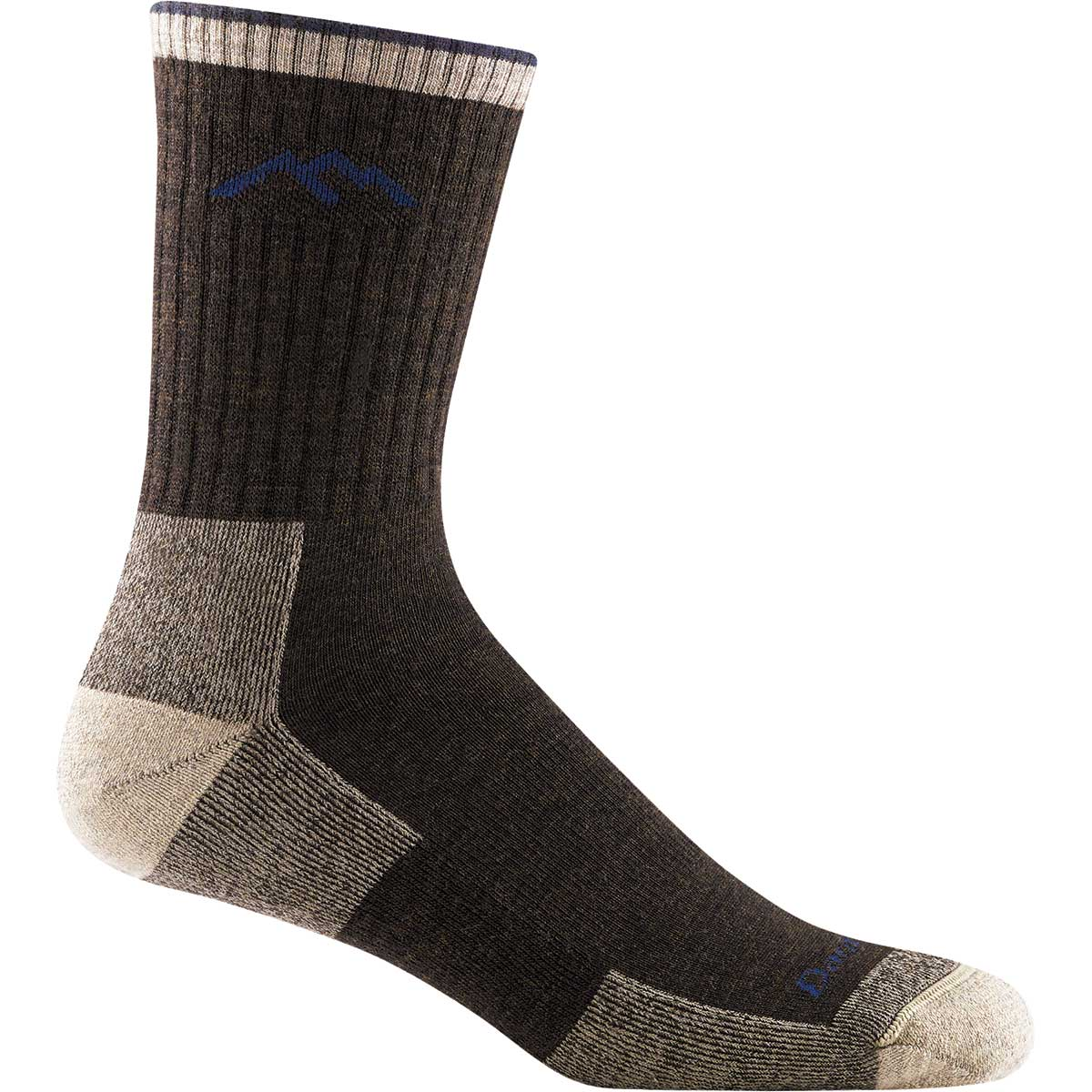 Darn Tough Men's Hiker Micro Crew Midweight Cushion Socks