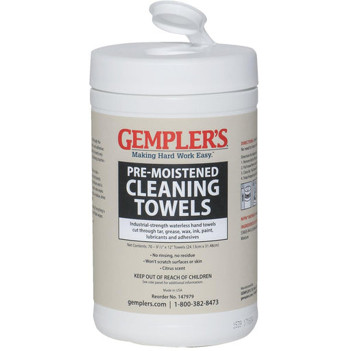 Waterless Hand Cleaner Towels
