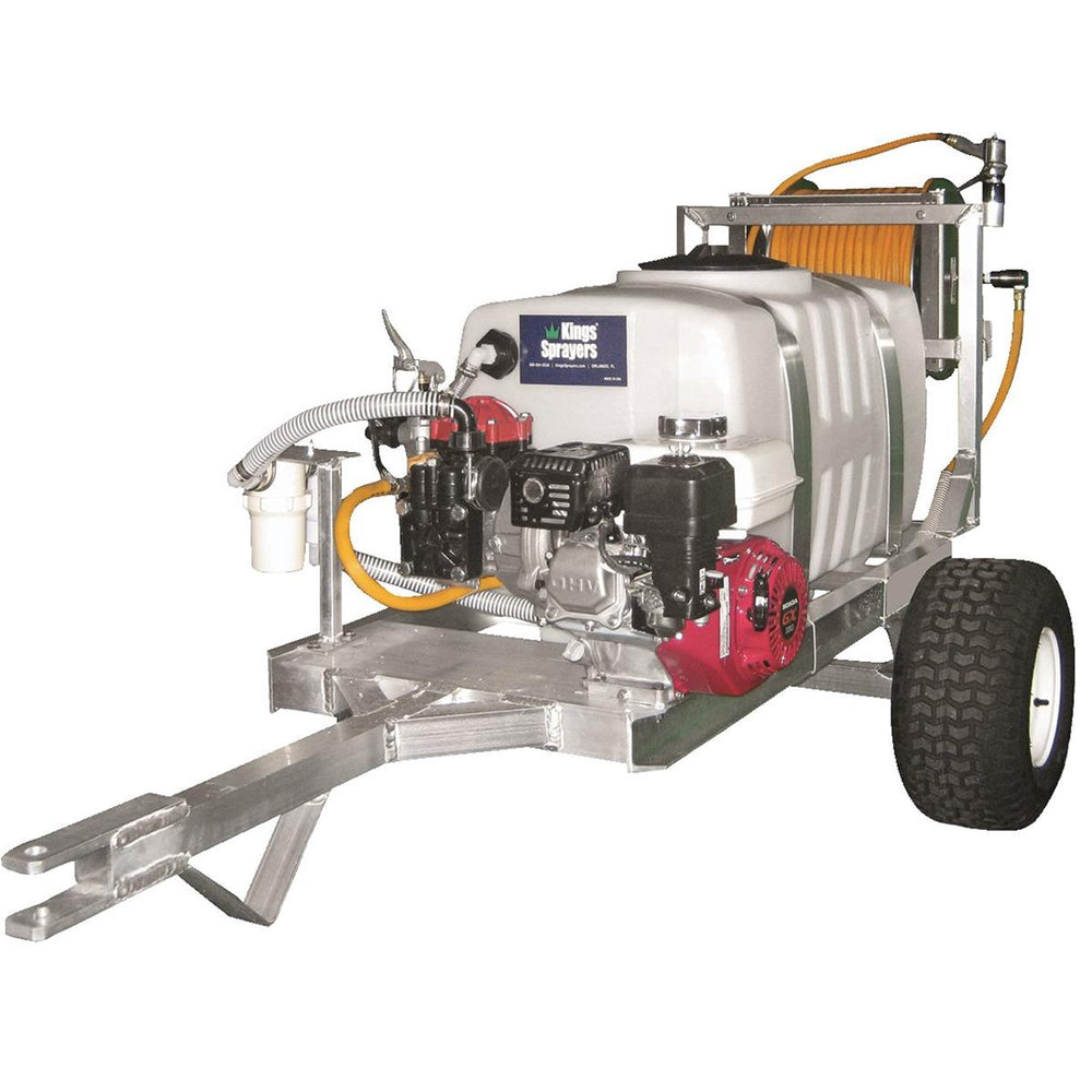 Kings 50-gal. Two-wheel Trailer Sprayer with 300' Hose