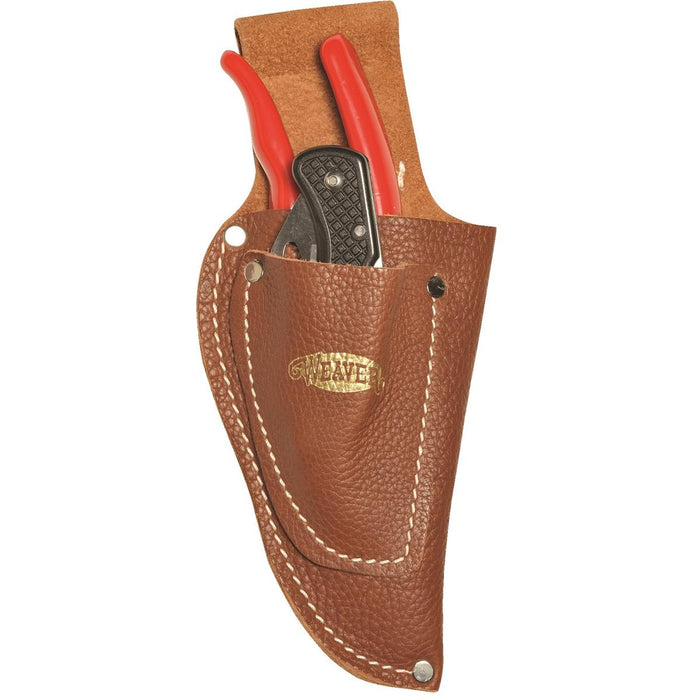 Pistol-style Holster w/ Knife Pouch