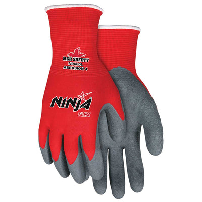 MCR Safety Ninja® Flex Latex-Coated Gloves