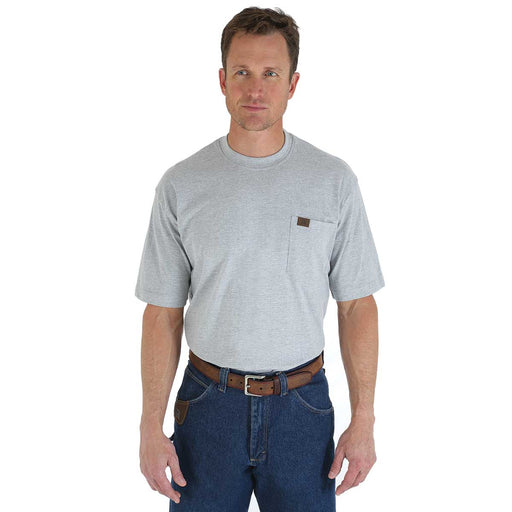 Riggs Workwear Short-Sleeve Cotton T-Shirt with Pocket