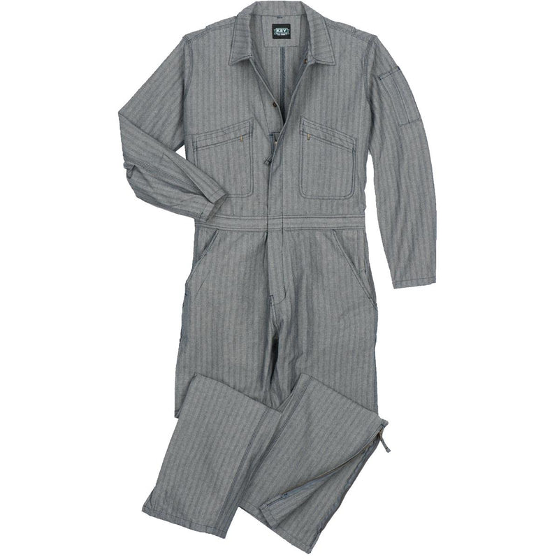 Key Zip-to-the-Knee Unlined Coveralls