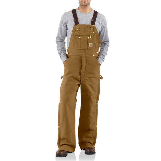 "Carhartt Bib Overalls R41 - Waist Sizes 52"" to 58"""