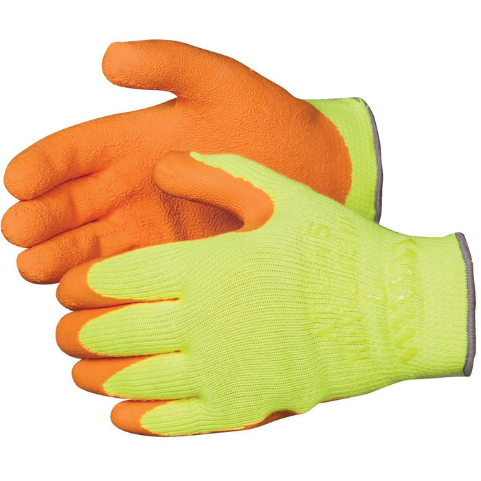SHOWA Atlas 317 High-Visibility Latex-Dipped Gloves