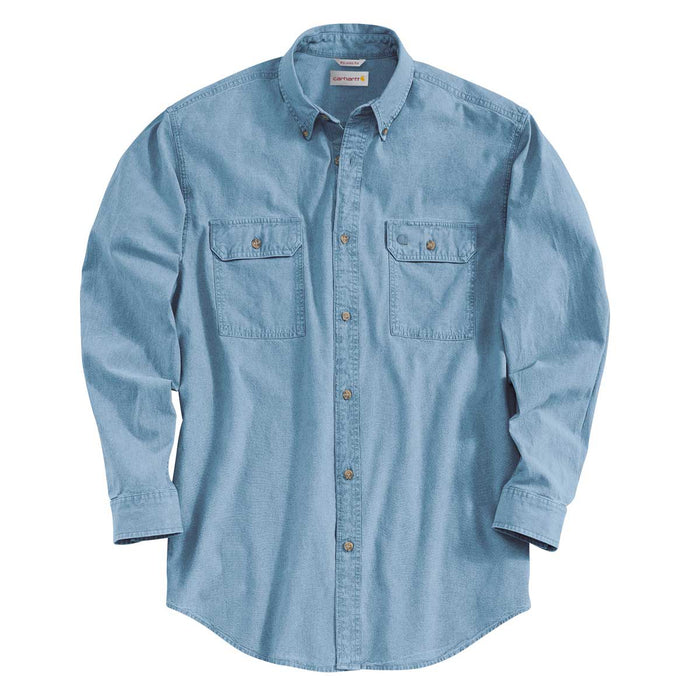 Carhartt S202 Fort Long Sleeve Chambray Shirt