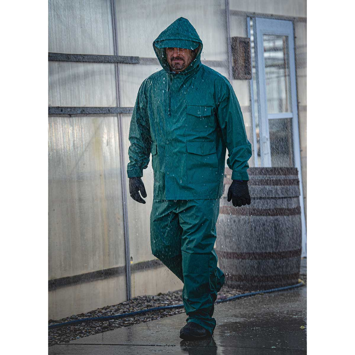 Gempler's PVC-on-Nylon Rain Jacket and Pants