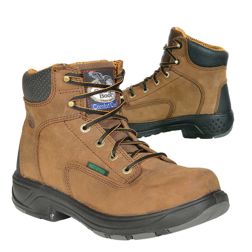 "Georgia Boot 6""H Plain Toe Waterproof Leather Work Boots"