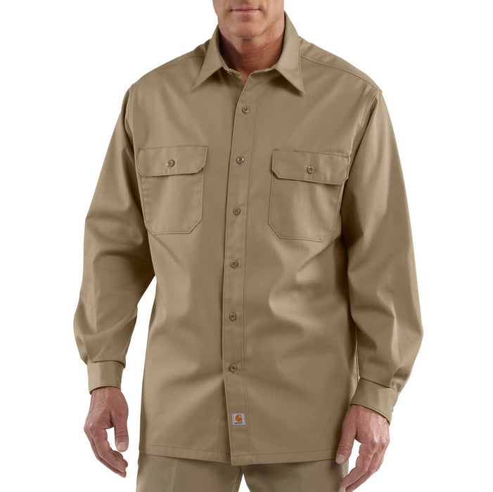 Carhartt S224 Long-Sleeve Twill Work Shirt