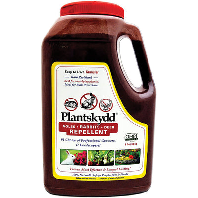 Plantskydd Rabbit and Small Animal Repellent, 8-lb. Shaker Jug