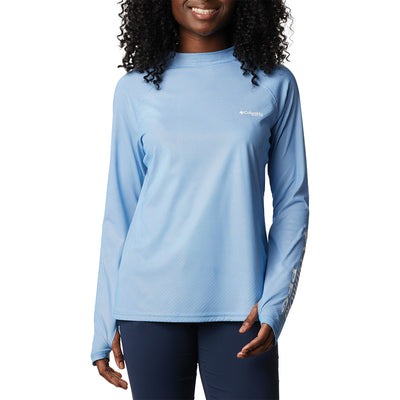 Columbia Women's Tidal Deflector Zero Mock Long Sleeve Shirt