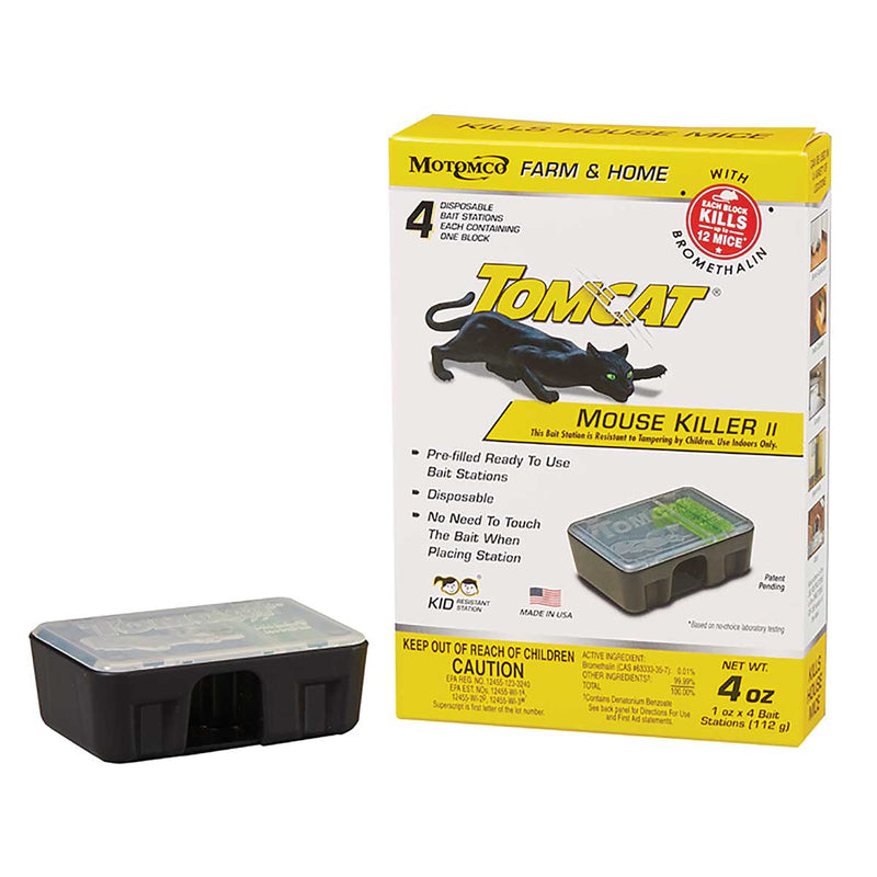 Tomcat Mouse Killer II Disposable