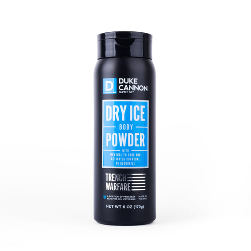 Duke Cannon Trench Warfare Dry Ice Body Powder