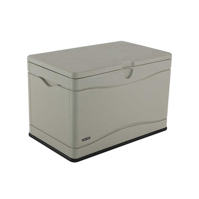 Lifetime Heavy-Duty Outdoor Storage Deck Box (80 Gallon)