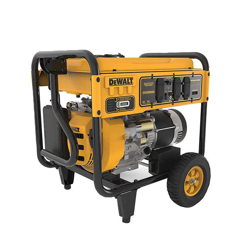 DEWALT 8000-Watt Portable Gas Generator
