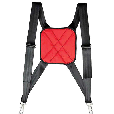 Seatbelt Webbing Harness with Padded Patch