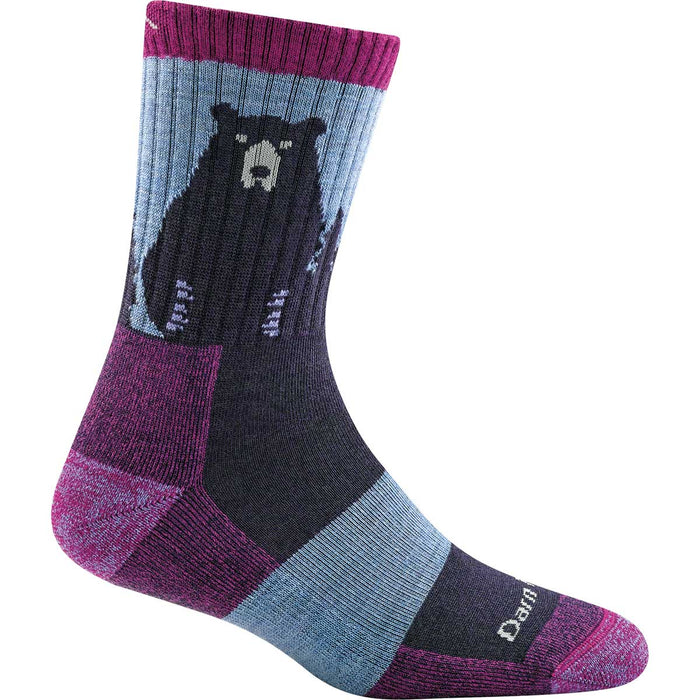 Darn Tough Women's Bear Town Micro Crew Light Cushion Socks