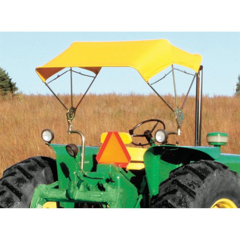 Axle Mount for Folding Buggy-Top Canopies