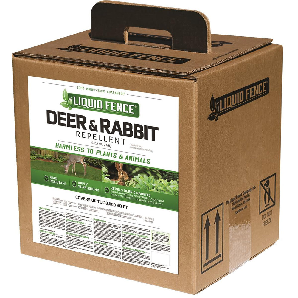 Deer & Rabbit Granular Repellent, 40 lb.