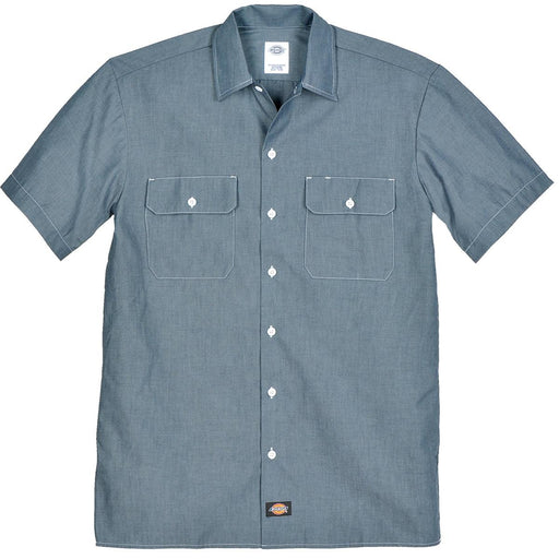 Dickies Short-Sleeve Chambray Shirt