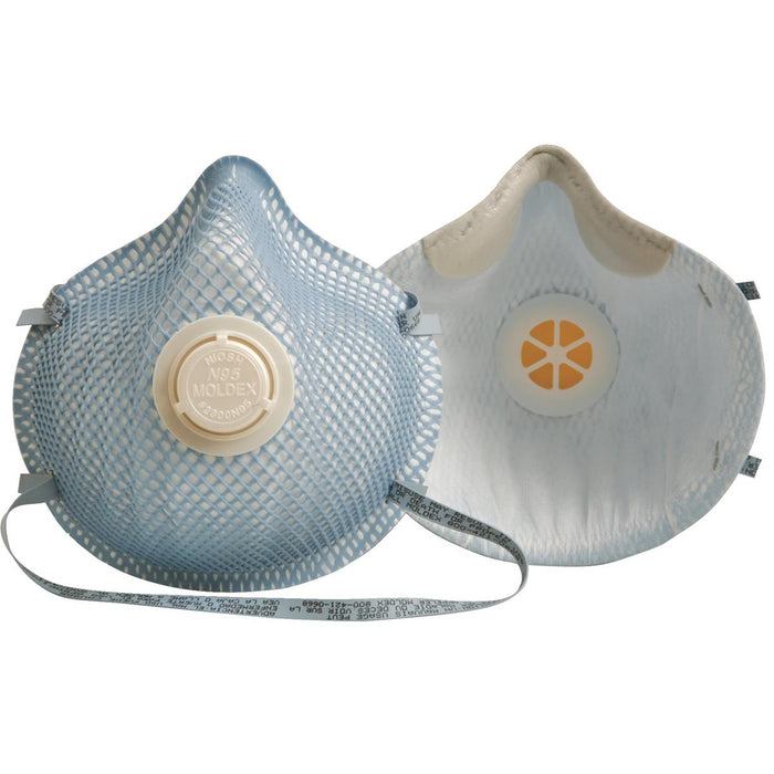 Moldex 2300 N95 Respirator With Exhale Valve, Box of 10