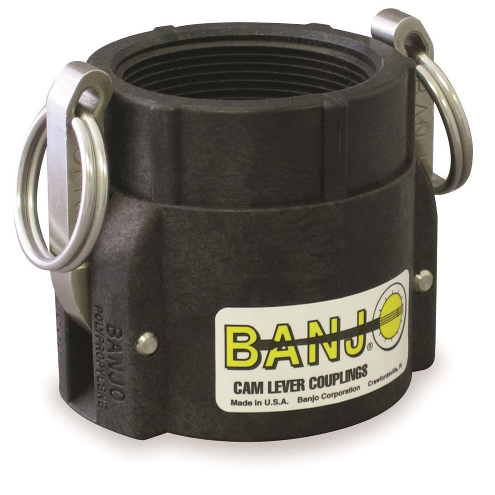 Banjo® Cam Lever Couplings, Female Coupler x Female Thread