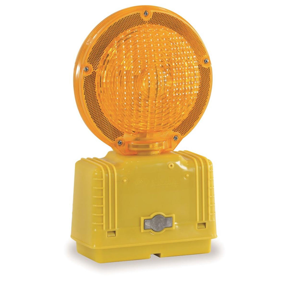 6V Incandescent Barricade Light with Photo Cell