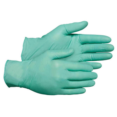 "5-mil Neoprene Disposable Gloves, 9-1/2""L"