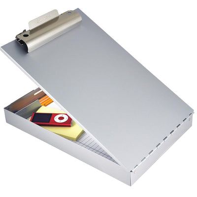 "SAUNDERS 8-1/2""W x 12""L Aluminum Clipboard Holder"