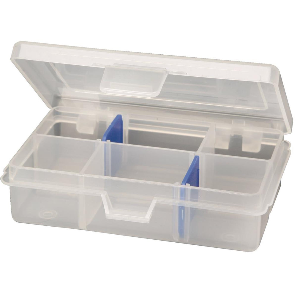 Small Parts Organizer With 4 to 6 Compartments
