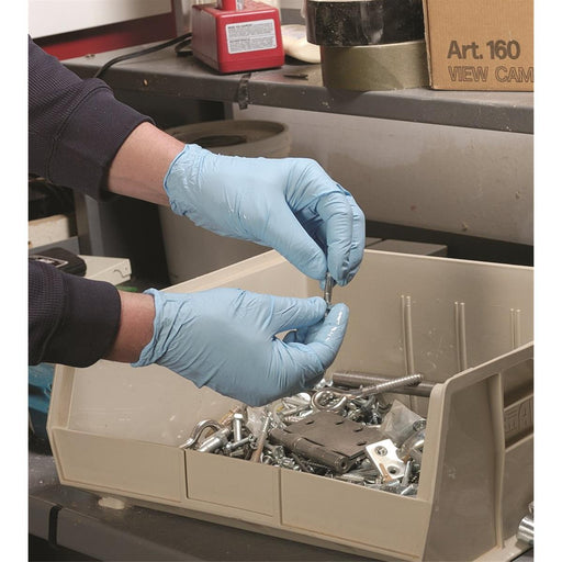 SHOWA BEST® 4-mil, Powder-Free Nitrile Gloves