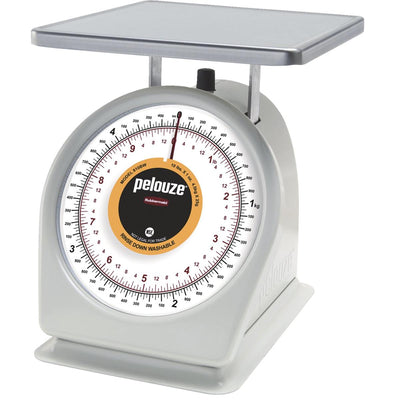 pelouze® Easy-to-Read Dial Scale, 10-lb. Capacity