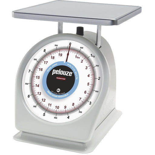 pelouze® Easy-to-Read Dial Scale, 20-lb. Capacity