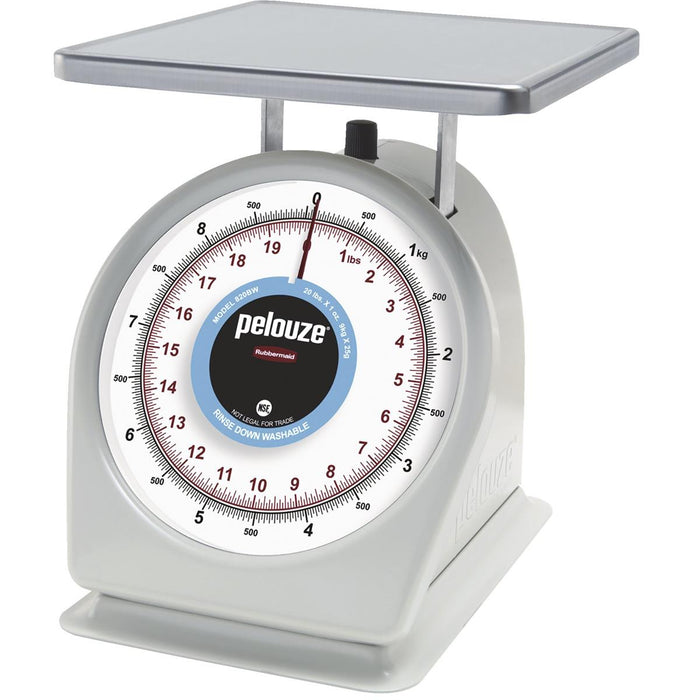 pelouze® Easy-to-Read Dial Scale, 20-lb  Capacity