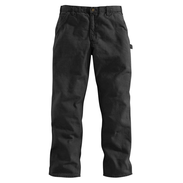 "Carhartt B11 Pants 12-oz. Washed Duck Jeans - 34""-40"" Waist"