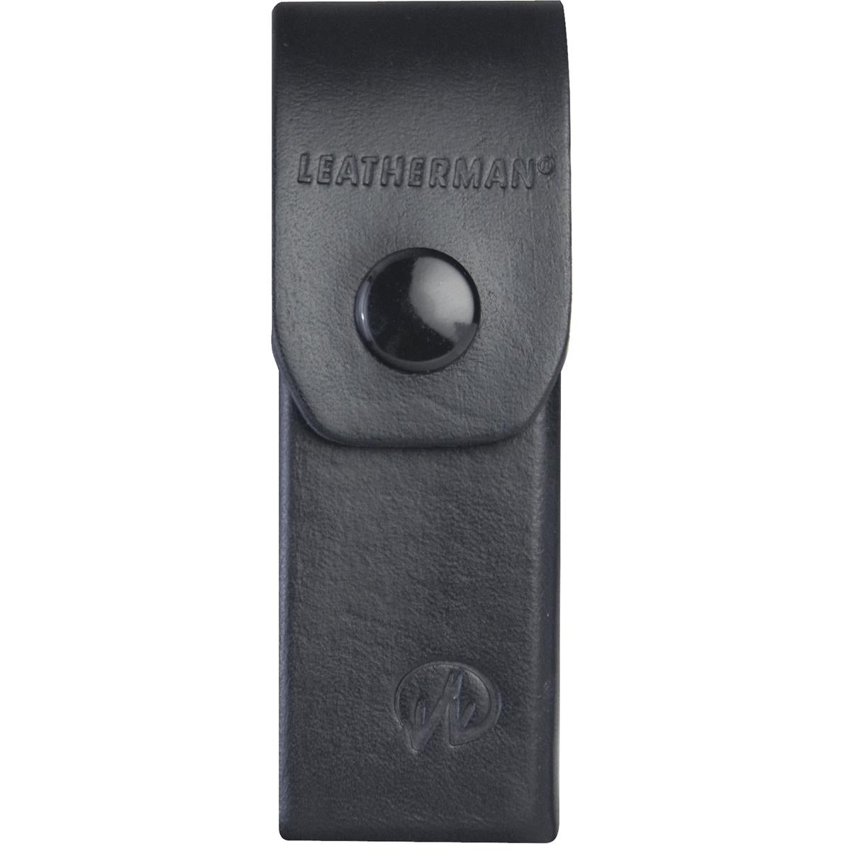 "Leatherman 4"" Black Leather Box Sheath"