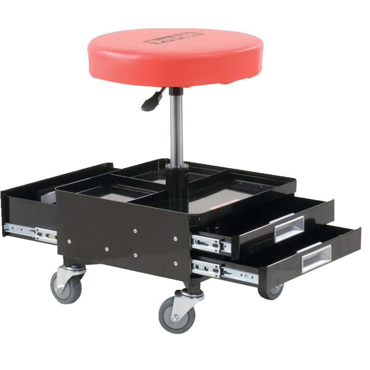 Pro-Lift® Pneumatic Shop Seat with Tool Trays